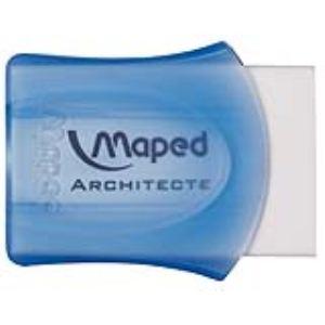 Maped 511010 4 - Gomme blanche Architecte en plastique