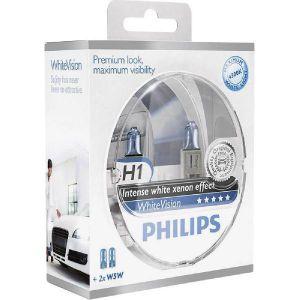 Philips 2 Ampoules H1 White Xenon effect 12 V