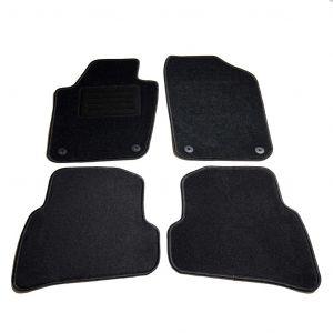 VidaXL Ensemble de tapis de voiture 4 pcs pour VW Polo V