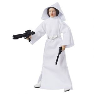 Hasbro Figurine Star Wars Leia Organa The Black Series 40e anniversaire