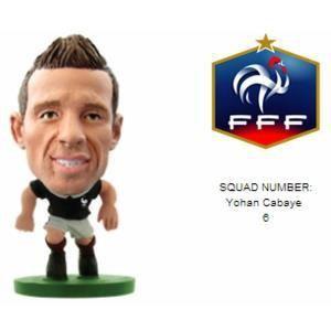 SoccerStarz Figurine Yohan Cabaye (France)