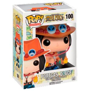 Funko Figurine Pop! One Piece : Portgas D. Ace 100