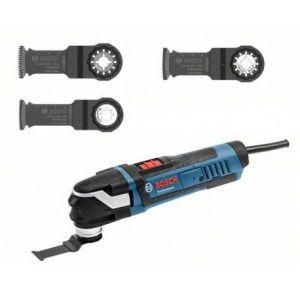 Bosch GOP40-30 3 lames ref. 0601231004 - Découpeur ponceur Starlock Plus 400W