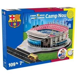 Nanostad Stade Camp Nou FC Barcelone - Puzzle 3D 109 pièces
