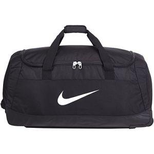 Nike Club Team Swoosh Roller Bag 3.0 Sac de sport grand format, 82 cm, 120 liters, Noir (White)