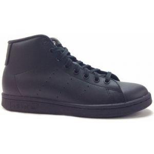Adidas Stan Smith Mid, Baskets Hautes Mixte Enfant, Noir Core Black 0, 35.5 EU