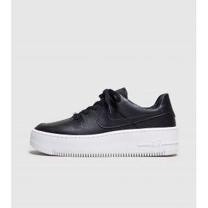 Nike Chaussure de Basket-Ball Air Force 1 Sage Low pour Femme - Couleur Noir - Taille 38