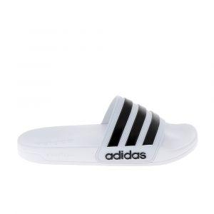 Adidas Sandale nu piednu pied et sandale cf adilette blanc noir 46