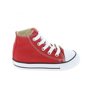 Converse Chaussure bebe all star hi bb rouge 22