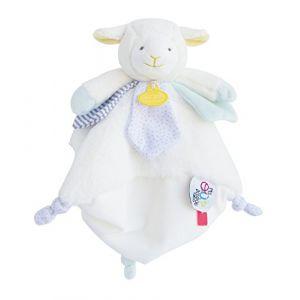 Doudou et Compagnie Peluche Super doudou agneau tatoo