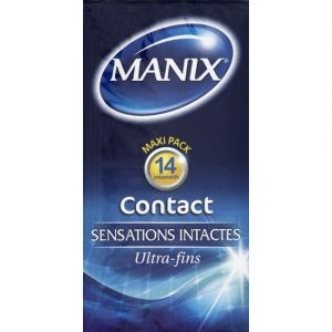 Manix Contact - Boîte de 12 préservatifs
