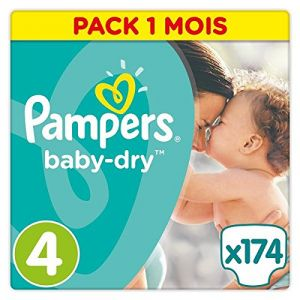 Pampers Baby Dry taille 4 (8-16 kg) - 174 couches