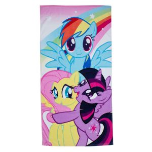 Character World Serviette de bain My Little Pony equestria (140 x 70 cm)