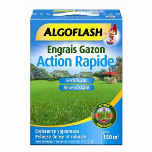 Algoflash Engrais Gazon Action Rapide 3 kg