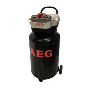 AEG Compresseur d'air vertical 50 L 2 CV 8 bar sans huile - 50 L - Moteur : 2 CV - Sans huile - Air aspiré / restitué : 170 / 120 L / min - Pression : 8 bars max