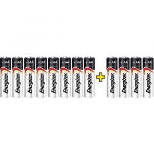 Energizer Pile LR06 (AA) alcaline(s) E300115606 Max LR06, 8+4 gratis 1.5 V 12 pc(s)
