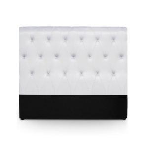 menzzo t te de lit reverin 140 cm comparer avec. Black Bedroom Furniture Sets. Home Design Ideas
