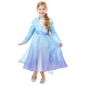 Rubie's Déguisement Officiel Luxe Elsa La Reine des Neiges 2 - Taille 7-8 ans
