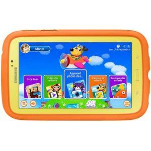 "Samsung Galaxy Tab 3 Kids 8 Go - Tablette tactile enfant 7"" sur Android 4.1"
