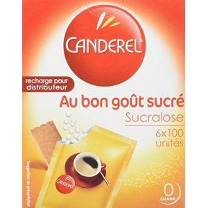Canderel Edulcorant de table, recharge pour distributeur - La boîte de 600 comprimés, 51g