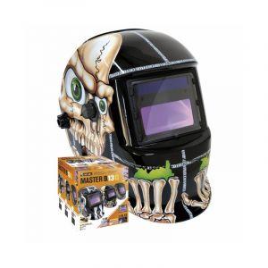 GYS Masque soudeur LCD MASTER 9/13 G (gris foncé)