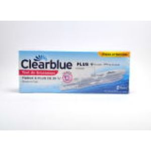 Clearblue 2 tests de grossesse Plus
