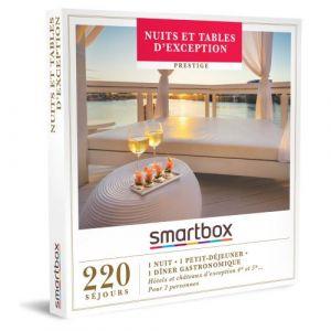 Smartbox Coffret cadeau Nuits et tables d'exception