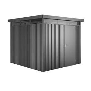 Biohort HighLine H2 modèle 1 porte - Abri de jardin en métal 5,36 m²