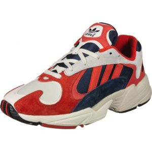 Adidas Yung-1 chaussures beige rouge T. 41 1/3