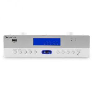 Auna KR-100 - Radio de cuisine encastrable Bluetooth