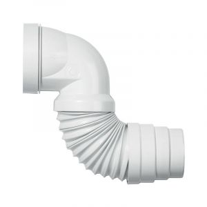Wirquin Pipe wc coudée extensible