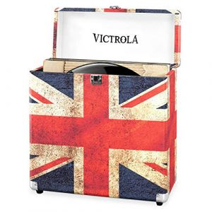 Victrola Valise à vinyles 30 albums - UK Flag - VSC-20-UK-EU
