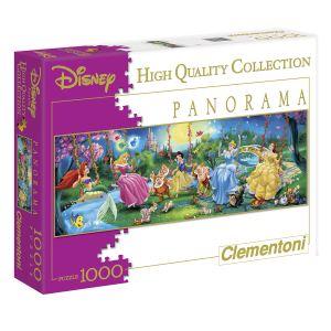 Clementoni Puzzle Panoramique - Swinging Princesses 1000 pièces
