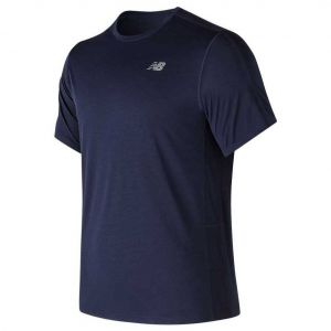 New Balance Tshirt Accelerate Bleu marine - Taille 52