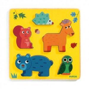 Djeco Puzzle en Bois - Frimours