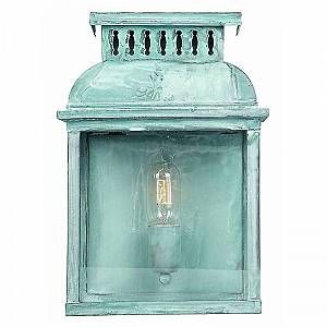 Elstead Applique Murale Westminster 1x100W - Vert-de-Gris - LIGHTING - westabbeyverdi
