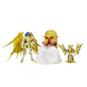 Bandai Figurine Saint Seiya Myth Cloth - Ex Soul Of Gold Saga Geminis Premium Set 20 cm