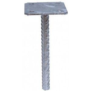 Simpson Strong-Tie Pied de poteau simple platine 70 x 70 mm (PPSP70)