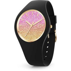 Ice Watch Ice-Watch - Ice lo Black Mango - Montre Noire pour Femme avec Bracelet en Silicone - 016904