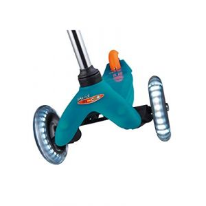 Micro Mobility - Mini Rollers Mixte Adulte, Noir