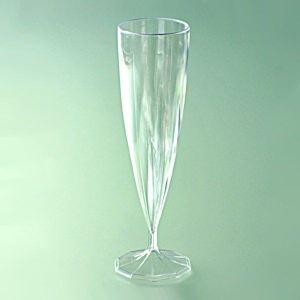 Mesa Bella 10 flûtes à champagne en plastique recyclable