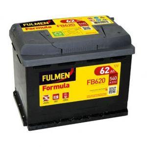 Fulmen Batterie auto FORMULA FB620 (+ droite) 12V 62AH 540A