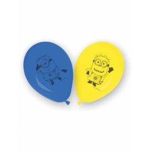 8 ballons en latex lovely Minions