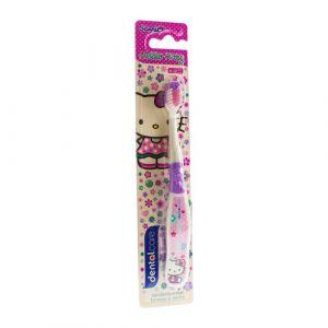 Dentalcare Hello Kitty - Brosse à dents pour enfant 4-12 ans