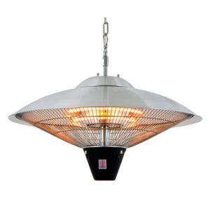 Image de OutTrade CE09 - Parasol chauffant électrique plafonnier infrarouge