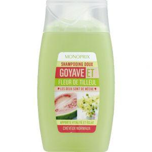 Monoprix Shampooing doux goyave et fleur de tilleul, cheveux normaux