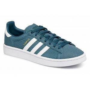 Adidas Campus W, Chaussures de Fitness Femme, Bleu (Petnoc/Ftwbla/Dormet 000), 37 1/3 EU