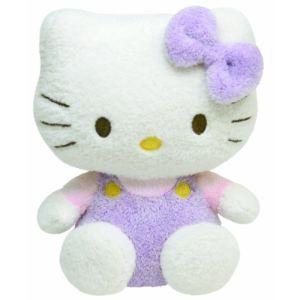 Ty Peluche Pluffies : Hello Kitty Lavande 25 cm