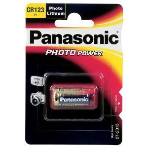 Panasonic Power Photo CR123A Pile Lithium type CR17345