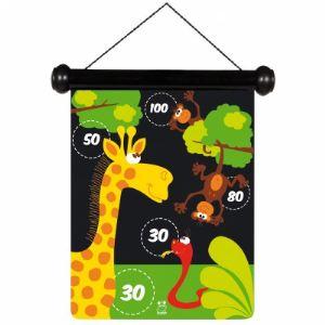 Scratch Jeu de fléchettes magnétique Zoo